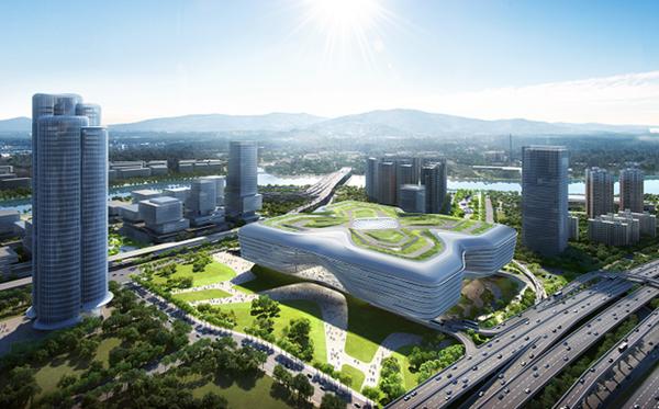 """深圳皇岗口岸重建实现""""三开"""",将打造为超级口岸和综合交通枢纽"""